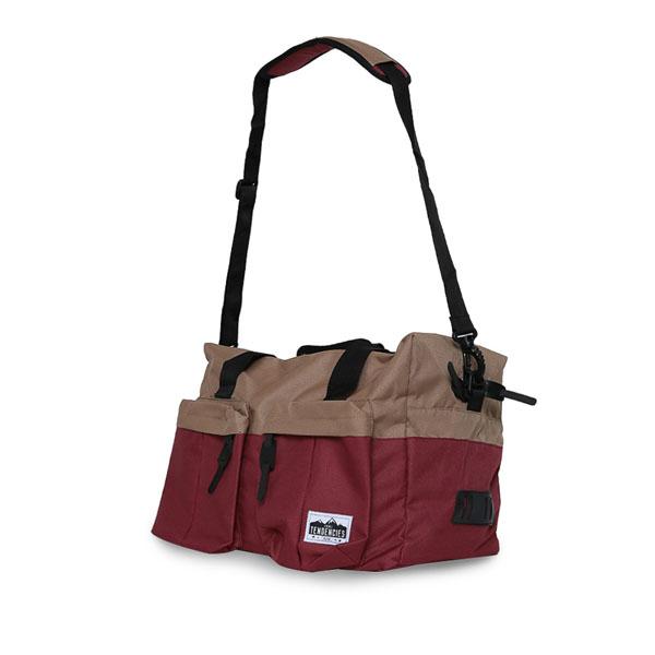 Duffle Bag Gym Bag Maroon 1