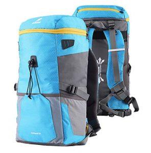 persiapan naik gunung dengan tas backpack sollu catapult electro