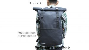 tas ransel anti air alpha 2