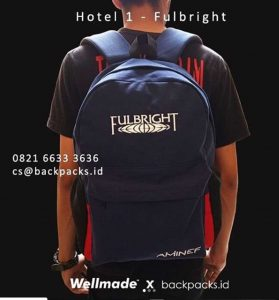 jual backpack pemesanan custom