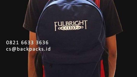 jual backpack pemesanan custom