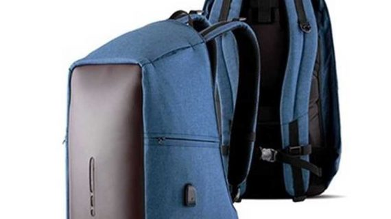 smart backpack sollu antitheft