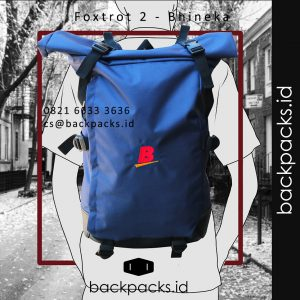 tas backpack custom model bebas klien PT bhineka