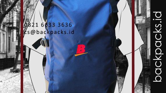 tas backpack custom model bebas klien PT bhineka