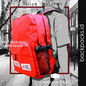 tas backpack custom model bebas klien RFL - PMI bahan waterproof 1