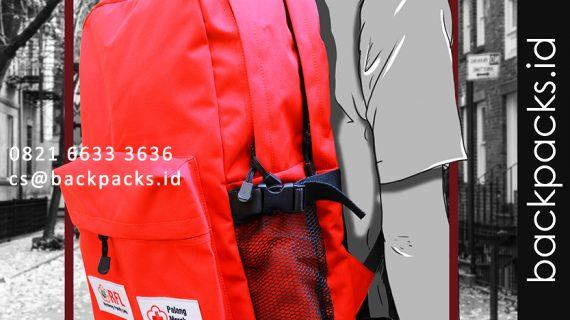 tas backpack custom model bebas klien RFL - PMI bahan waterproof 1