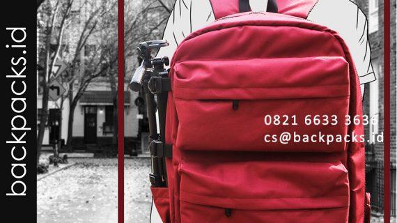 tas backpack kamera bahan cordura