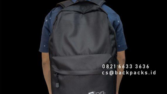 Jual Tas Ransel Custom Bahan Cordura Klien TB Simatupang Pasar Minggu Jakarta id6629p
