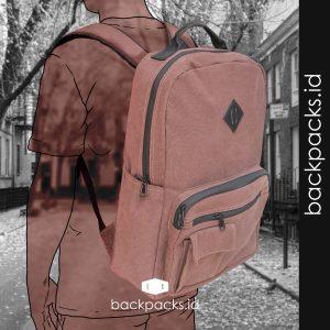 Jual Tas Backpack Bahan Kanvas Terbaik (1)