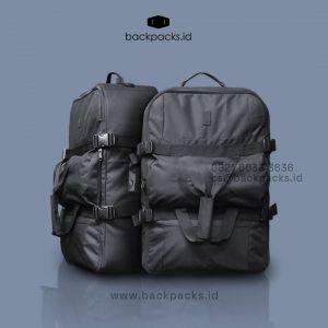 Tas Ransel Custom 3 In 1 Desain Bordir Kompleks Bestari Sawangan Kota Depok ID8715P